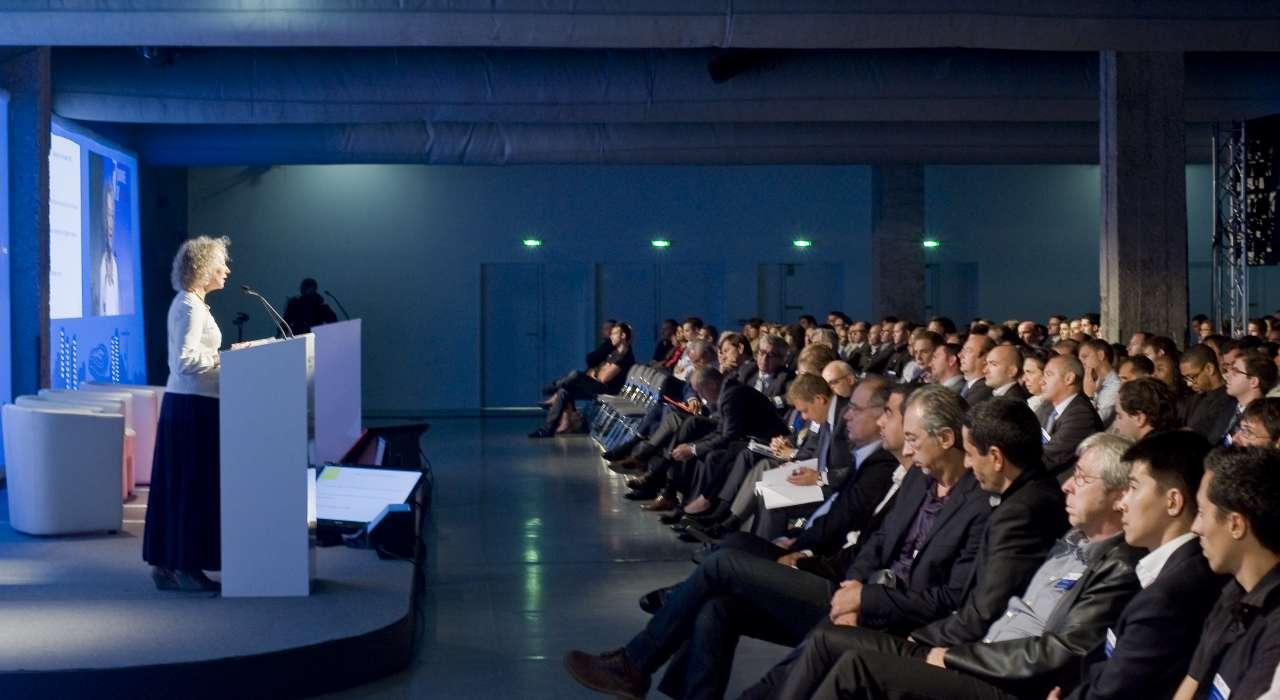 Conférence Vinci © Antoine Kienlen Les Docks Cité De La Mode Et Du Design