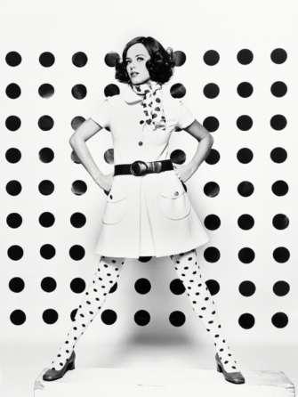 Pour Vogue Rita Scherrer Paris 1967 © Peter Knapp
