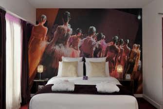 Une Chambre Comme Un Front Row Dr Hôtel Mercure Place D Italie