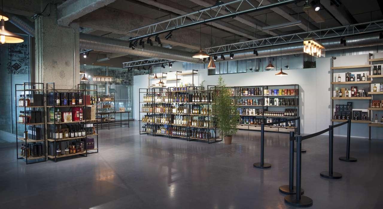 Boutique Whisky Live © DR - Les Docks - Cité de la Mode et du Design