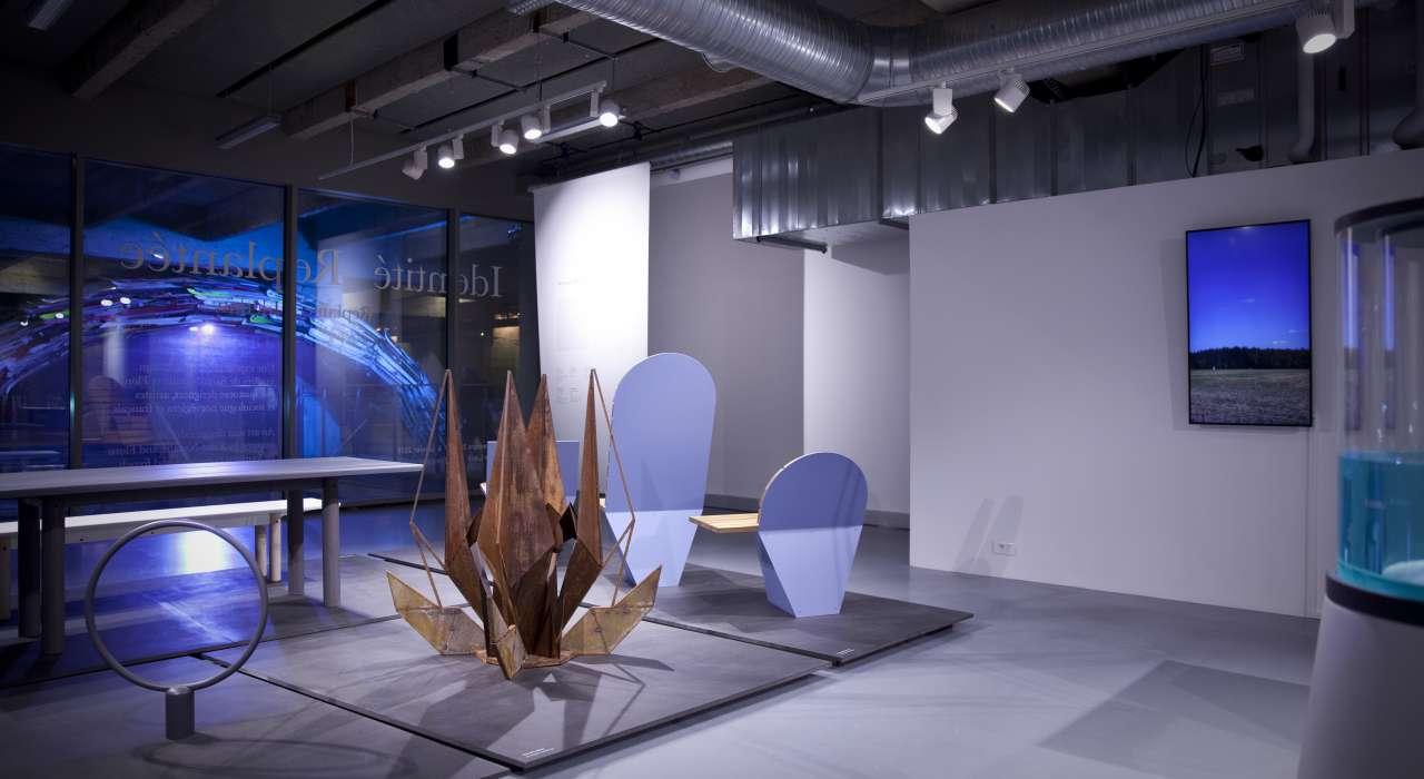 Exposition Identité Replantée © Brigitte Baudesson - Les Docks - Cité de la Mode et du Design