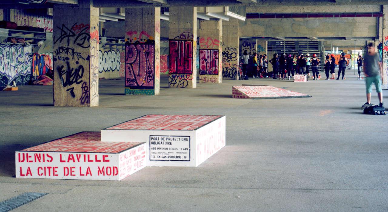 Skate - O- rama © DR - Les Docks - Cité de la Mode et du Design